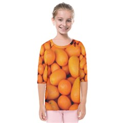 Kumquat 2 Kids  Quarter Sleeve Raglan Tee