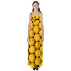 Lemons 2 Empire Waist Maxi Dress