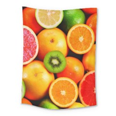 Mixed Fruit 1 Medium Tapestry by trendistuff