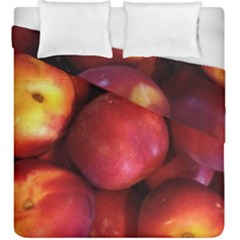 Nectarines Duvet Cover Double Side (king Size) by trendistuff