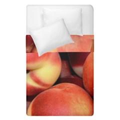 Peaches 1 Duvet Cover Double Side (single Size) by trendistuff