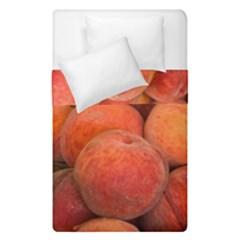 Peaches 2 Duvet Cover Double Side (single Size) by trendistuff