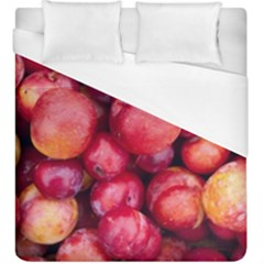 Plums 1 Duvet Cover (king Size) by trendistuff