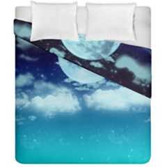 Dreamy Night Duvet Cover Double Side (california King Size)