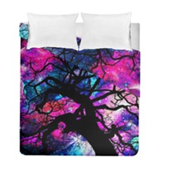 Star Field Tree Duvet Cover Double Side (full/ Double Size)