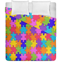 Colorful 10 Duvet Cover Double Side (california King Size) by ArtworkByPatrick