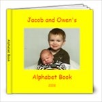 Alphabet Book - 8x8 Photo Book (30 pages)