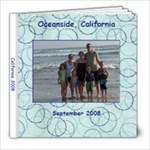 California - 8x8 Photo Book (20 pages)