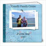 Conolly Family Cruise Photo Book - 8x8 Photo Book (20 pages)