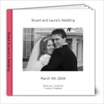 A Scottish Wedding - 8x8 Photo Book (20 pages)