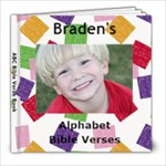 Bible Verse Book Braden - 8x8 Photo Book (20 pages)