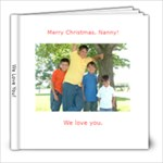 xmas book gift 4 nanny - 8x8 Photo Book (20 pages)