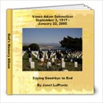 Dad s Memory Book - 8x8 Photo Book (20 pages)