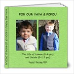 Yaya & Popou s Book - 8x8 Photo Book (30 pages)