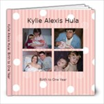 first year - 8x8 Photo Book (30 pages)