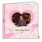 Oma s Brag Book - 8x8 Photo Book (20 pages)