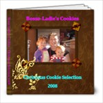 Cookie Cookbook - 8x8 Photo Book (20 pages)