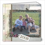 dad christmas 2008 - 8x8 Photo Book (30 pages)