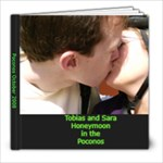 Tobias and Sara honeymoon - 8x8 Photo Book (20 pages)
