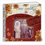 Mom and Dad s Wedding Photo Book - 8x8 Photo Book (20 pages)