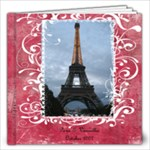 Rachel 12 x 12 Paris book - 12x12 Photo Book (20 pages)