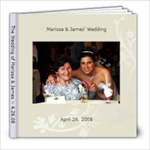Babusia Wedding book - 8x8 Photo Book (20 pages)