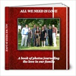 All we need is love - 8x8 Photo Book (30 pages)