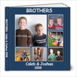brothers 2008 - 8x8 Photo Book (20 pages)