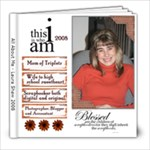 All About Me - 2008 - 8x8 Photo Book (20 pages)