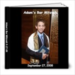 Bar Mitzvah AZ - 8x8 Photo Book (20 pages)