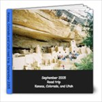 Colorado Sept 2005 - 8x8 Photo Book (20 pages)