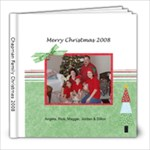 christmas2008 - 8x8 Photo Book (20 pages)