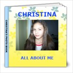 CHRISTINAS BOOK - 8x8 Photo Book (20 pages)