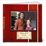 Renewal of Vows - 8x8 Photo Book (20 pages)