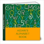 Aidan s Alphabet Book - 8x8 Photo Book (39 pages)