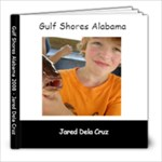 Jareds Gulf Shores album - 8x8 Photo Book (20 pages)