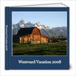 Westward Vacation - 8x8 Photo Book (20 pages)