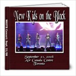 nkotb concert - 8x8 Photo Book (20 pages)