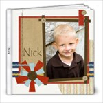 Nick 08 - 8x8 Photo Book (20 pages)