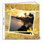 USA album - 8x8 Photo Book (20 pages)
