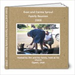 Evan and Carma Family Reunion  2008-3 - 8x8 Photo Book (20 pages)