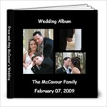 Wedding Album Backup 2 - 8x8 Photo Book (20 pages)