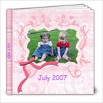 July 2007 - 8x8 Photo Book (20 pages)