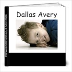 dallas birthday book - 8x8 Photo Book (20 pages)
