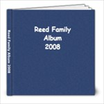 Reed Family Album - 8x8 Photo Book (30 pages)