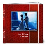 AP wedding Album - 8x8 Photo Book (20 pages)