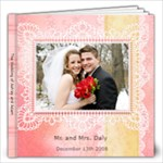 12 wedding book - 12x12 Photo Book (20 pages)