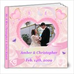 Amber & Christopher - 8x8 Photo Book (20 pages)