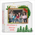 Christmas in Georgia, 2008 - 8x8 Photo Book (20 pages)