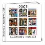 2007 Digital Scrapbook - 8x8 Photo Book (20 pages)